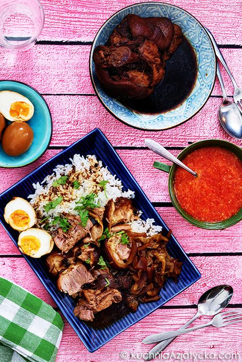 Golonka duszona z przyprawą pięciu smaków © KuchniaAzjatycka.com