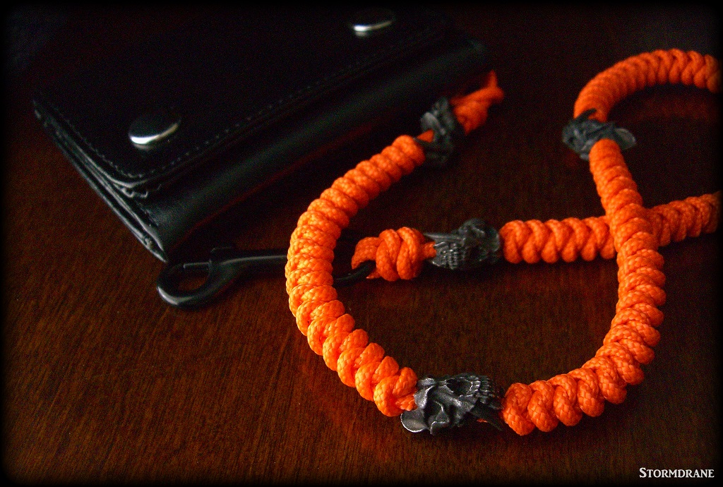 Stormdrane S Blog A Two Strand Wall Sinnet Paracord