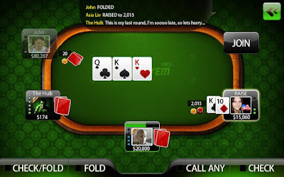 Live Holdem Poker Pro Android Game