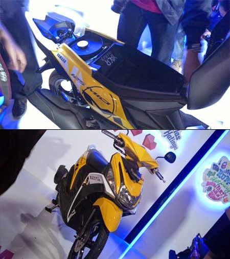 Harga Yamaha Mio M3 Blue Core 2015
