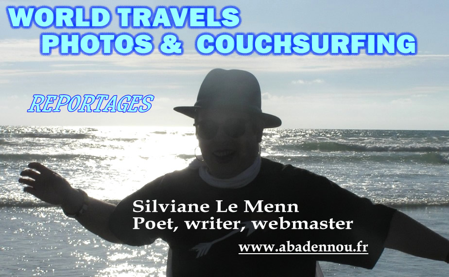 WORLD TRAVELS, PHOTOS and COUCHSURFING