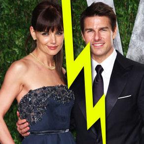 Tom & Katie   Icon Magazine Katie Holmes Divorce