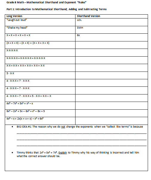 I Hope This Old Train Breaks Down Going Sloooooooow on – Exponent Rules Worksheet