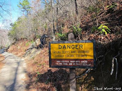 Smokey Mountain National Park, Danger Sign