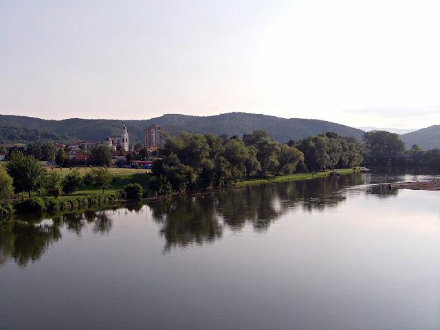 Pogled sa mosta - Zapadna Morava (Trstenik)