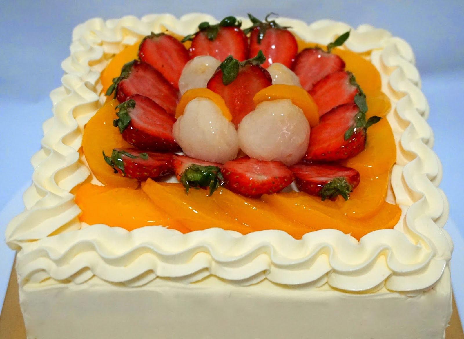Sherbakes: Assorted Fruits Rainbow Cake