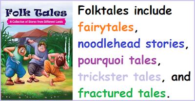 contoh narrative text folktale cerita rakyat