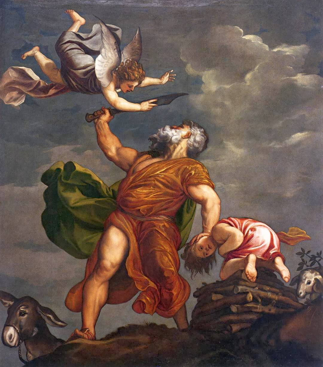 "Picture of ""Sacrifice of Isaac"" by Titian, 1542"