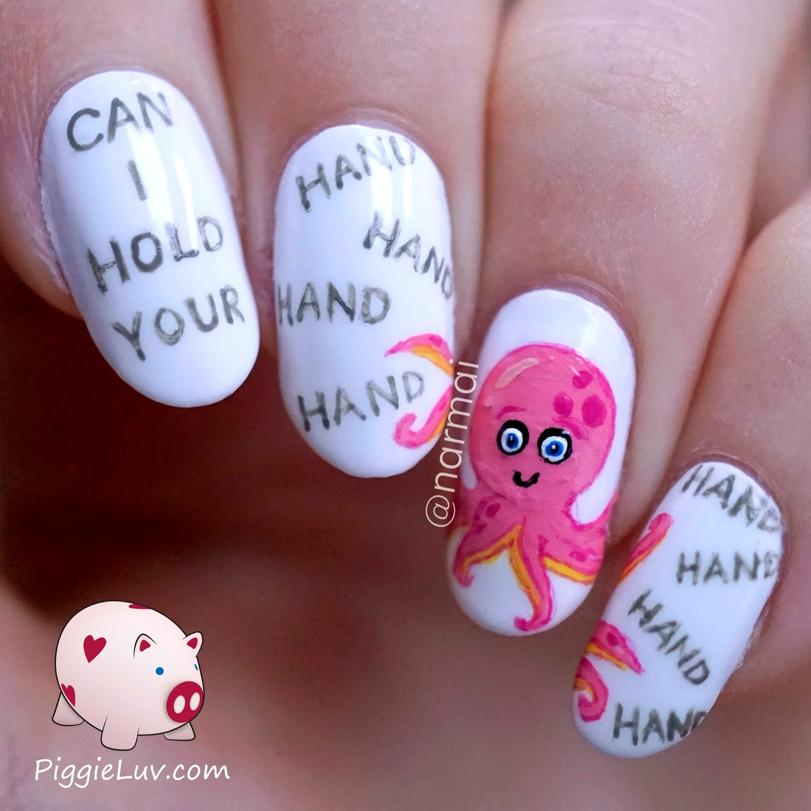Piggieluv february 2015 can i hold your hand hand hand hand hand hand hand hand hahaha dont you just love valentines day word jokes for nail art prinsesfo Images
