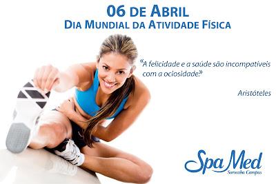 06 de Abril Dia Mundial da Atividade Física