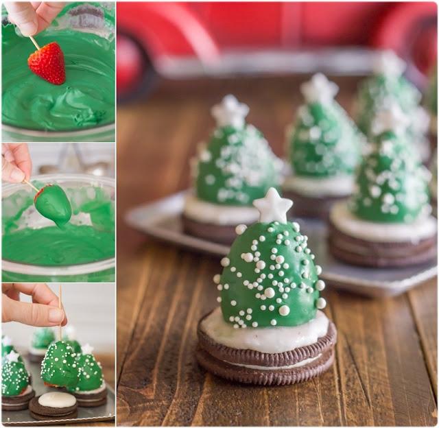 Receta árboles de navidad