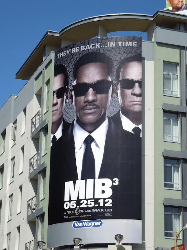 Will Smith MIB3 movie billboard