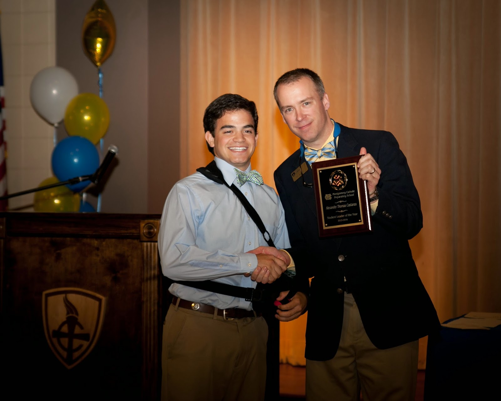 Academic Awards Given Recently at Montgomery Catholic Preparatory School 1