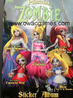 Princesas Zombie Album