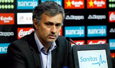 Mourinho at press conference after Valencia match