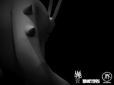 "Teaser Image 2 Jon Paul Kaiser x UME Toys x David Bishop ""X"" Resin Figure Prototype"