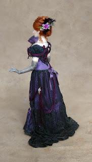Chantelle Miniature Doll Full View Back Left Side