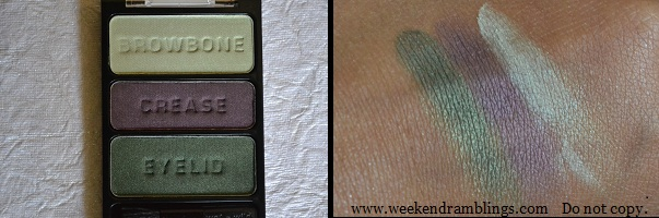 wet n wild eyeshadow palettes knock on wood i got good jeans dont steal my thunder cool as a cucumber reviews swatches eotd
