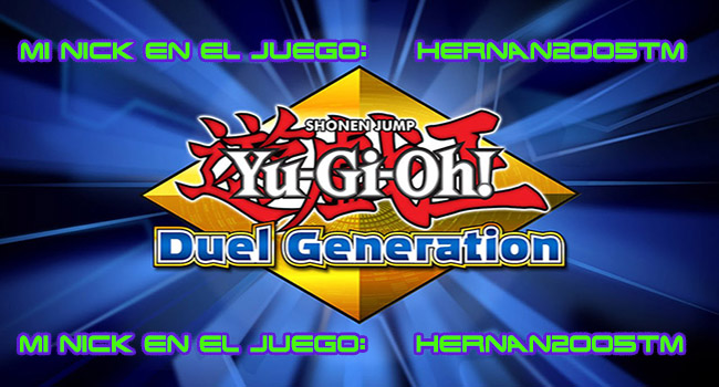 YUGIOH DUEL GENERATION