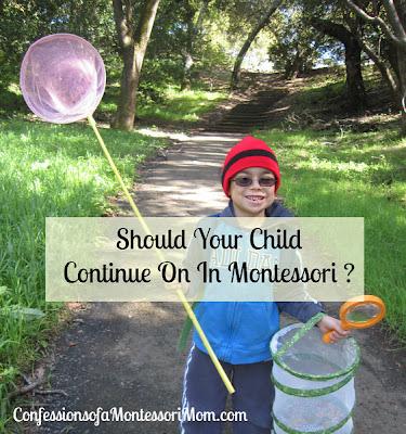 Should Your Child Continue On In Montessori?