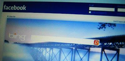 Bing ahora aparece al cerrar sesión en Facebook
