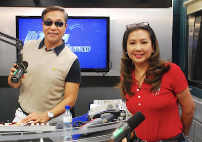 Ted Failon and Korina Sanchez Give Away Prizes on their DZMM programs, Failon Ngayon sa DZMM and Rated Korina