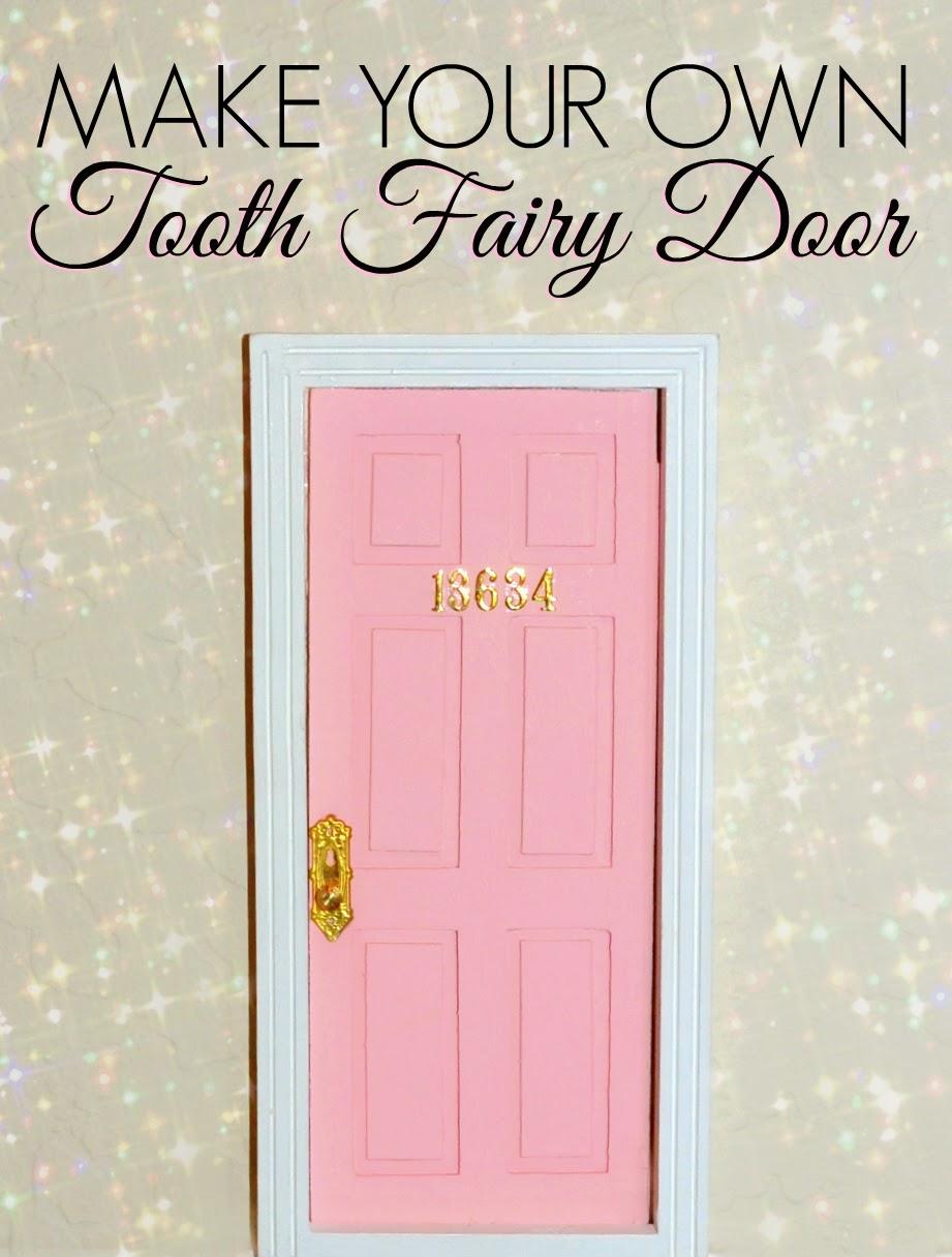 Diy tooth fairy door dette cakes for Homemade fairy doors