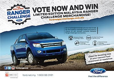 Wanna see a 4x4 drift or pull up to 3 000 kgs Make it happen and vote for the most extreme FordRangerChallenge