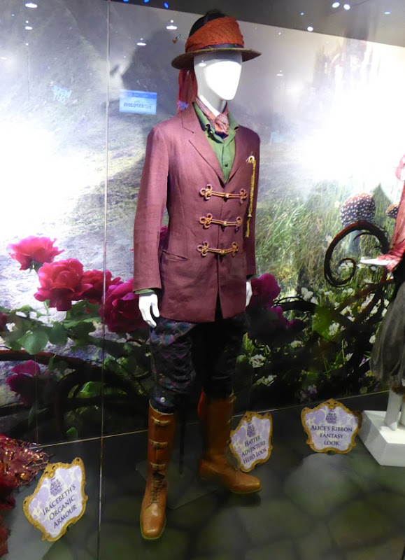 Johnny Depp Mad Hatter Adventure Hero costume Alice through Looking Glass