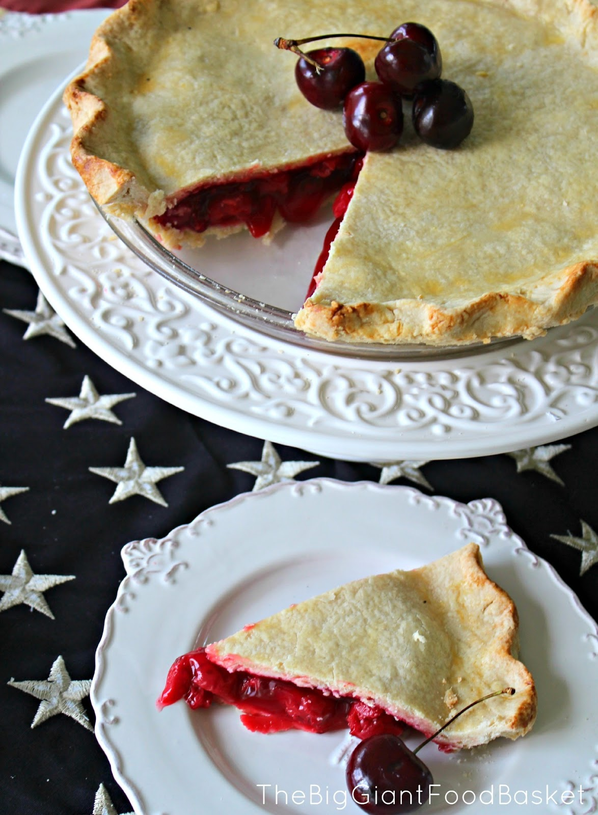 how to make an american cherry pie