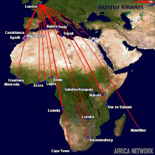 British Airways' Africa Network