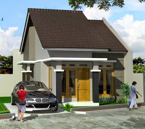 Contoh Rumah Model Minimalis Modern