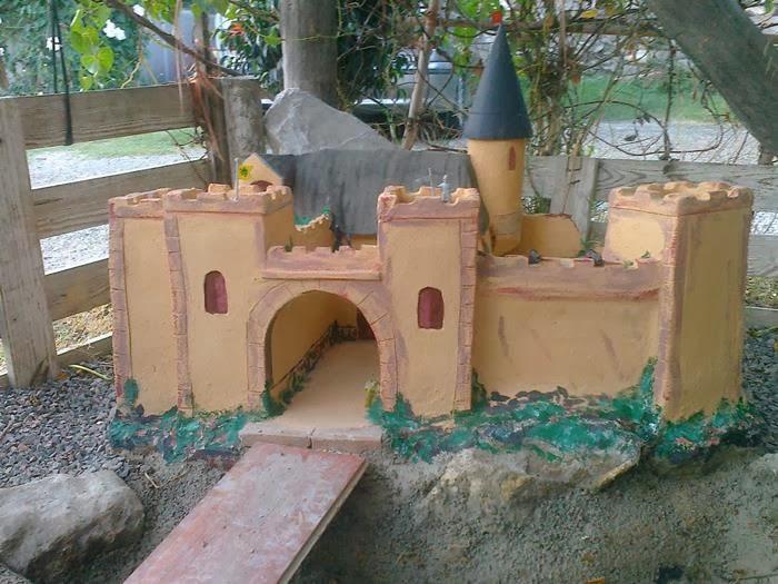 castillo de obra