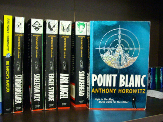 point blank anthony horowitz book report