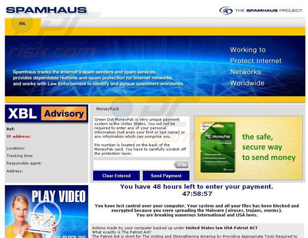 rimuovi spamhaus computer blocked moneypak virus semplice guida per disinstallare spamhaus. Black Bedroom Furniture Sets. Home Design Ideas