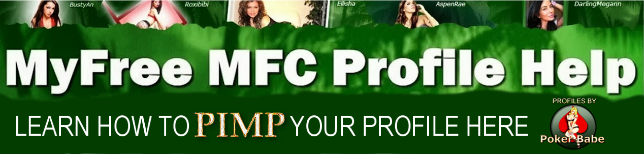 My Free MFC Profile Help