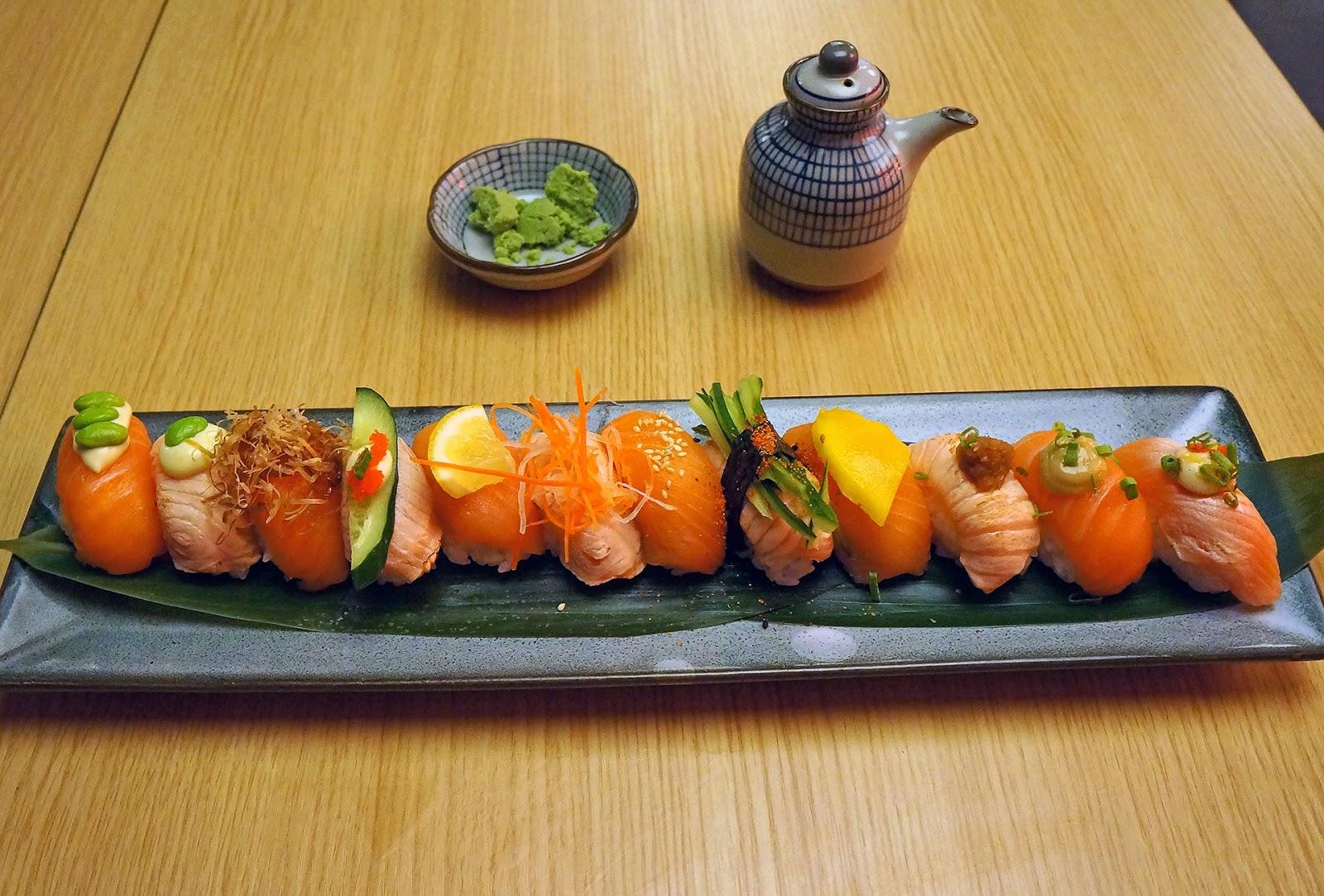 贪吃的狗 Tokyo Kitchen IOI City mall 三文鱼24の创意食赏