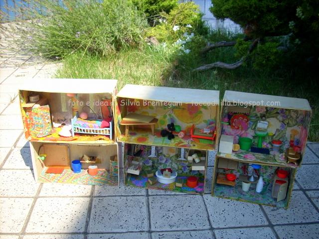 Costruire Una Casa Delle Bambole Di Legno : Tocco di li lla casetta delle bambole dolls house fai da te