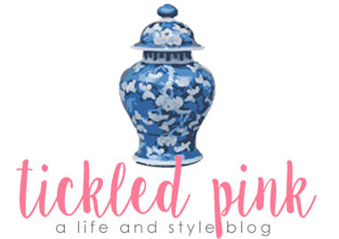 tickled pink blog
