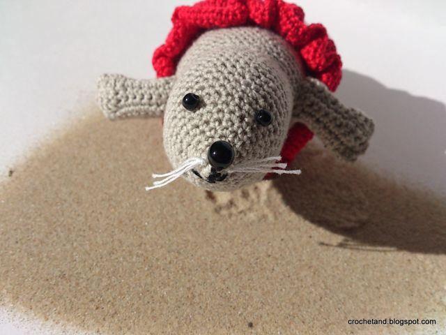 szydełkowa foka