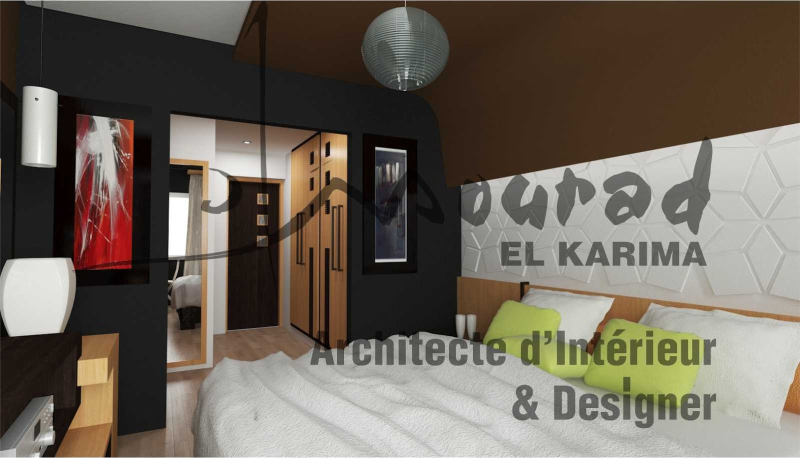 appartement s1 fonction et esth tique casablanca mourad el karima architecte d 39 interieur. Black Bedroom Furniture Sets. Home Design Ideas