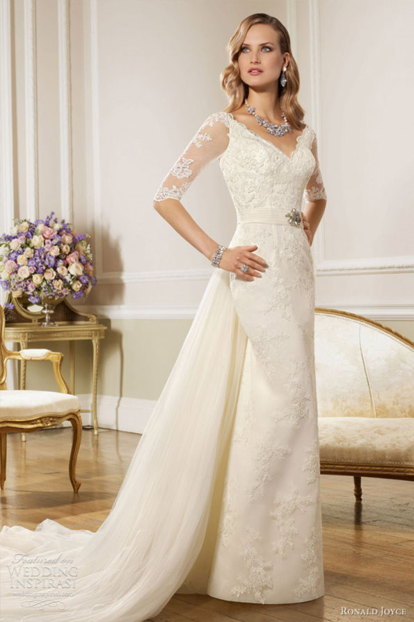 Elegant wedding dress of wedding inspirasi 2013 spring for Most elegant wedding dresses