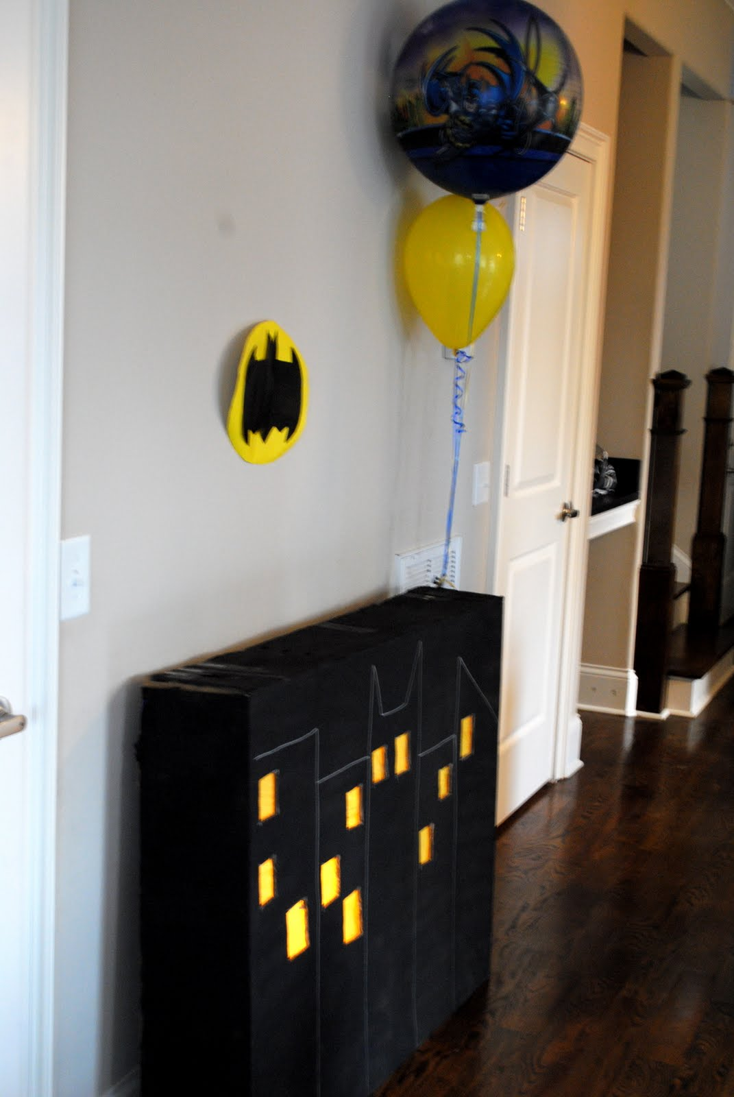 & Smile Laugh and Learn: batman party theme