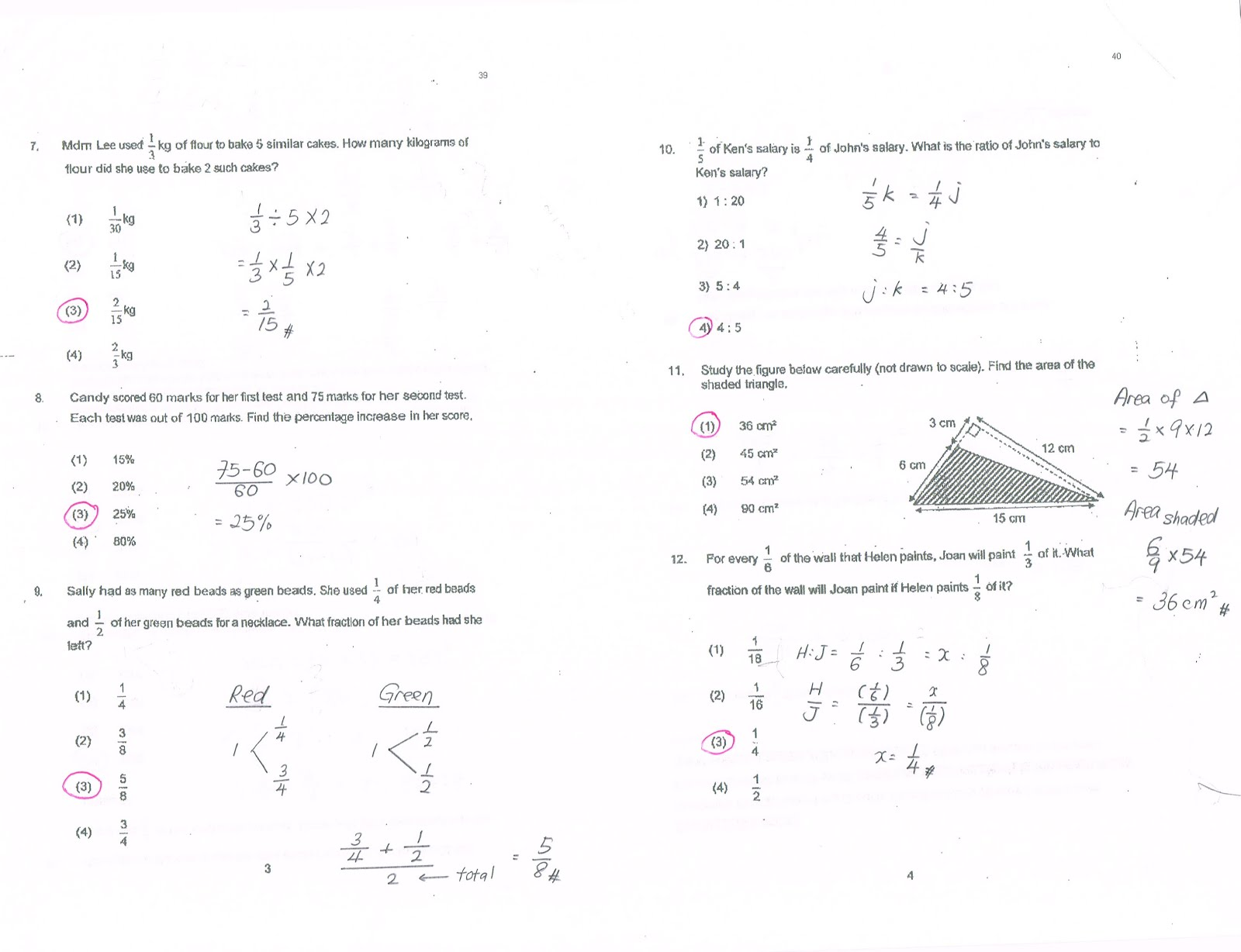 Math Answers To Questions aprita – Math Worksheets for High School with Answers
