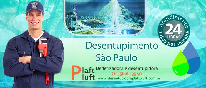 Desentupimento em São Paulo