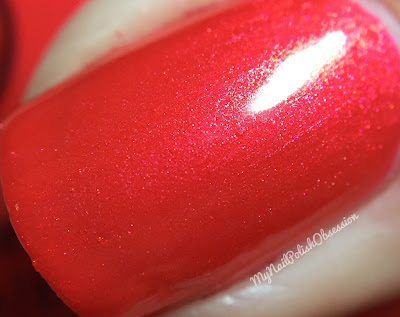 China Glaze Wishes; Son Of A Nutcracker
