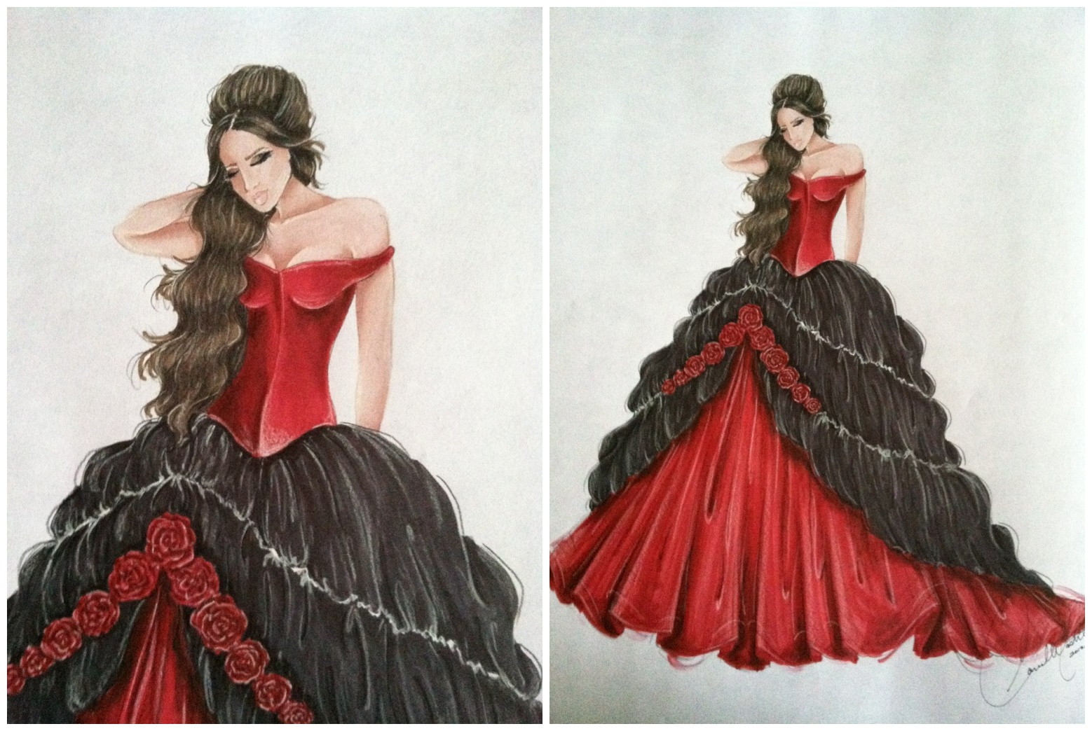 Celebrity News & Gossip: Vampire Diaries Inspired Ball Gown Party