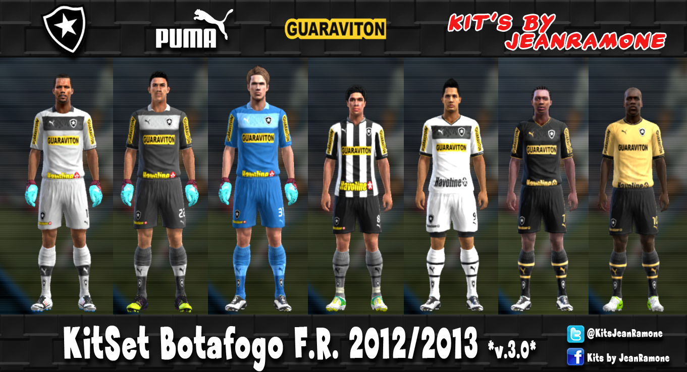 KITSET DO CORITIBA 12/13 - PES 2013