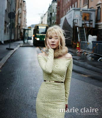 Kim Ah Joong - Marie Claire Magazine December Issue 2013