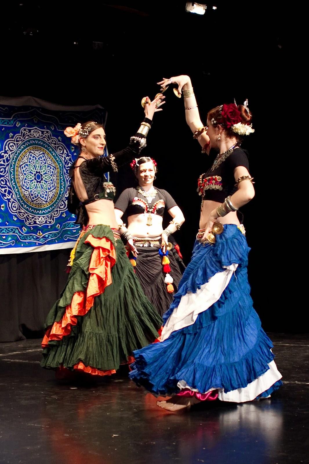 Clases de ATS danza tribal en MAdrid con Alicia Lopez